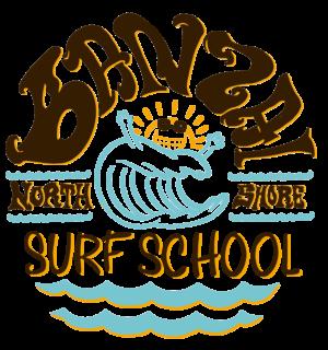 banzai surf school logo